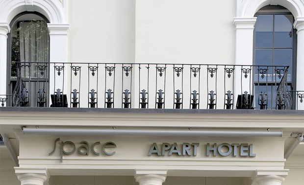 Hyde park apart hotel space apart hotel ext local for Apart hotel londre
